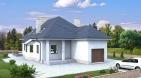 Проект одноэтажного жилого дома для узкого участка